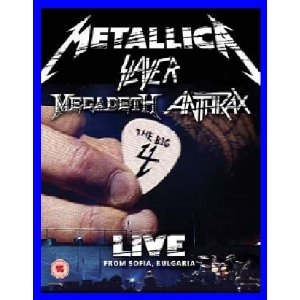 Picture of THE BIG 4 (Metallica Slayer Megadeth Anthrax) Live from Sofia, Bulgaria [2 Blu-Ray]