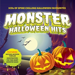 Picture of    Monster Halloween Hits - 3 CD Of Spine Chilling Halloween Favourites