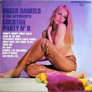 Картинка на Roger Danneels And His Orchestra – Cocktail Party N° 8 [Vinyl Second Hand] LP