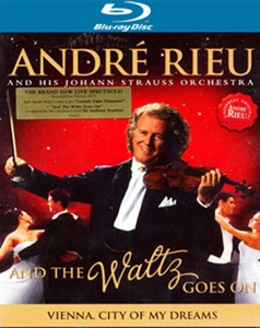 Picture of Andre Rieu - And the Waltz Goes on [Blu-ray]