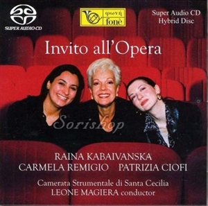 Picture of Raina Kabaivanska, Ciofi, Remigio - Invito All'opera SACD