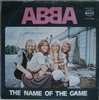 "Picture of ABBA - The Name Of The Game [Vinyl Second Hand] 7"" Single"
