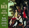 Picture of Carl Philipp Emanuel Bach; Machiko Takahashi; Concertgebouw Chamber Orchestra; Roland Kieft - Flute Concertos