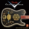 Picture of Fender Custom Shop Guitar - Wall Calendar 2018