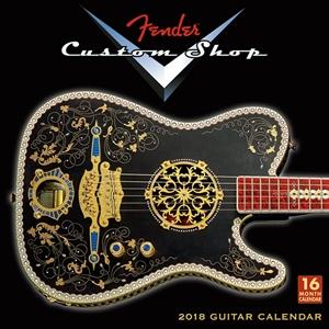 Picture of Fender Custom Shop Guitar - Wall Calendar 2018