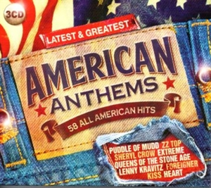 Picture of Various Artists - Latest & Greatest: American Anthems [3 CD]