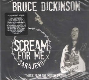Picture of Bruce Dickinson - Scream For Me Sarajevo