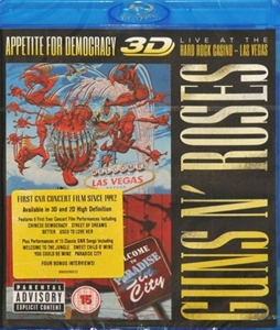 Picture of Guns N' Roses - Appetite For Democracy 3D Blu-Ray