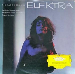 Картинка на Richard Strauss; Inge Borkh; Marianne Schech; Jean Madeira; Dietrich Fischer-Dieskau - Elektra - Querschnitt Vinyl Second Hand LP