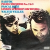 Картинка на Bela Bartok; Pascal Roge; The London Symphony Orchestra; Walter Weller - Klavierkonzerte Nr. 2&3  [Vinyl Second Hand] LP